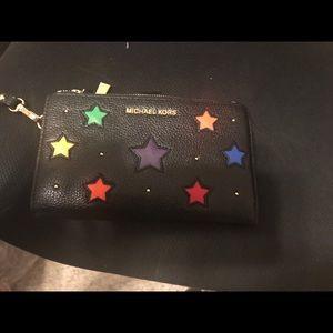 Michael Kors Rainbow star wallet